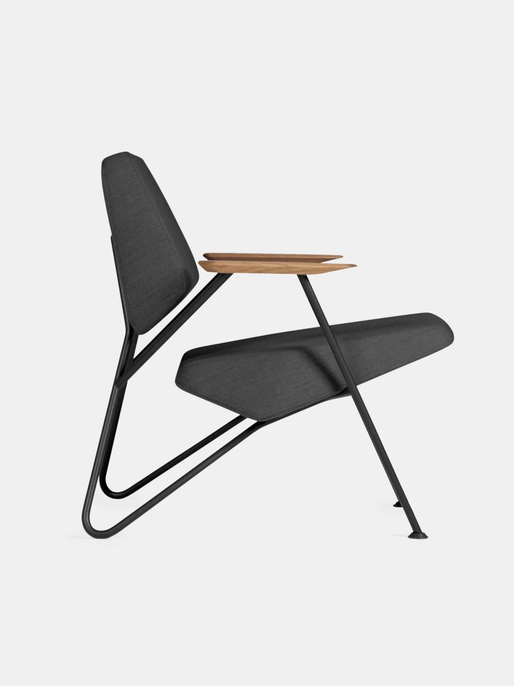 PROSTORIA POLYGON ARMCHAIR (black) - available at utopiast.com