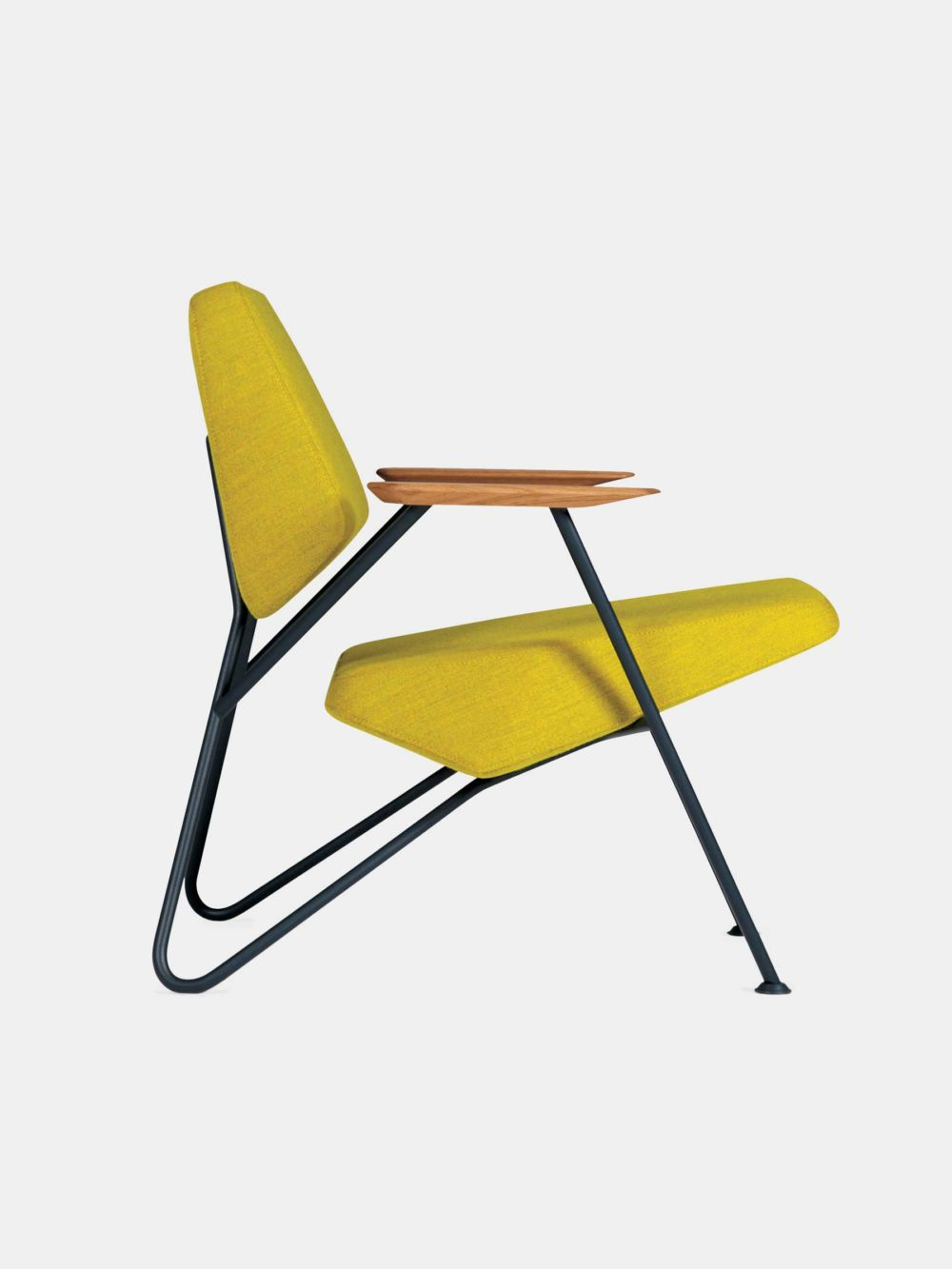 PROSTORIA POLYGON ARMCHAIR (yellow) - available at utopiast.com