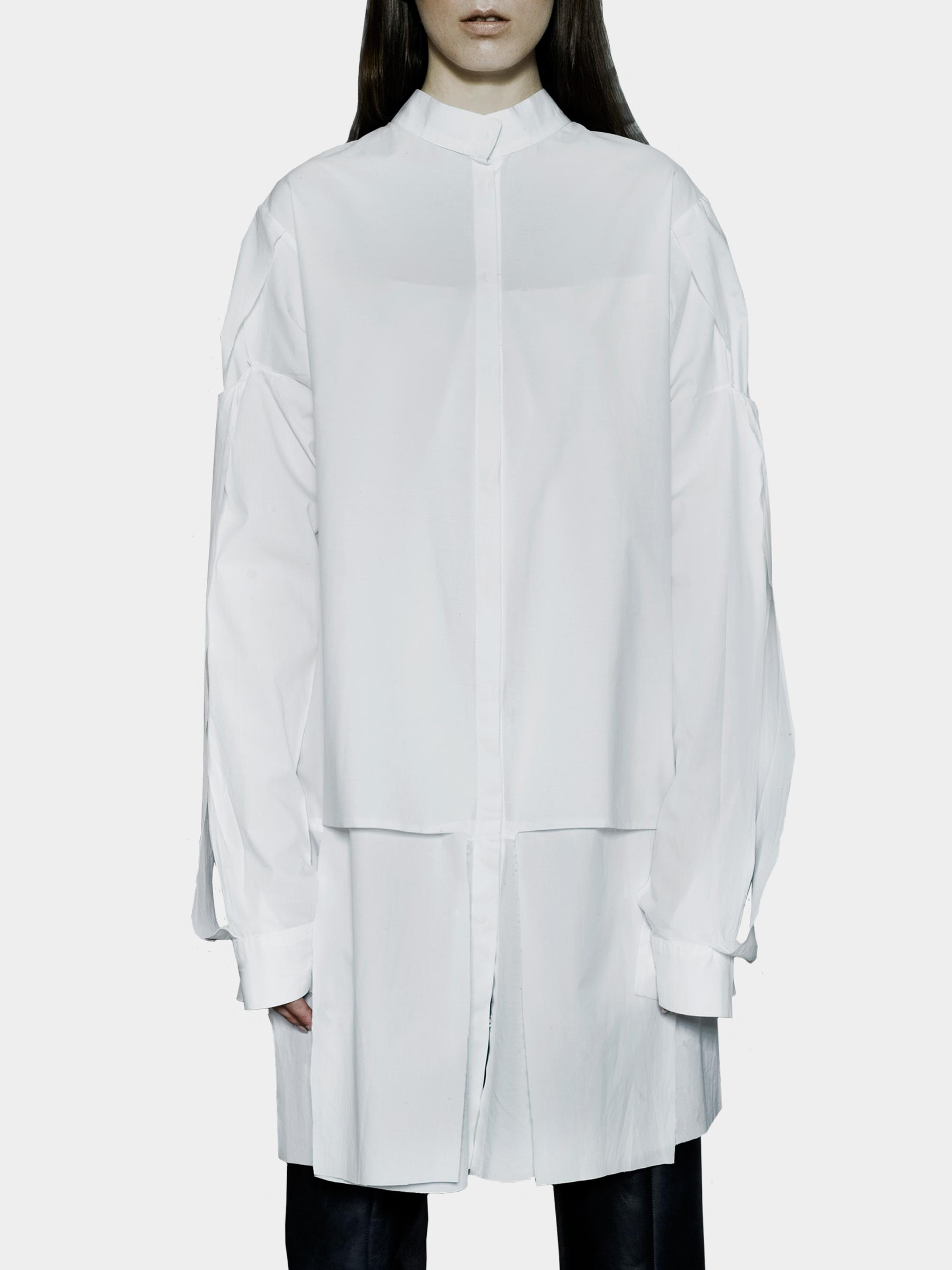 White Shirt/Tunic - Joanna Organisciak - Cotton - utopiast.com