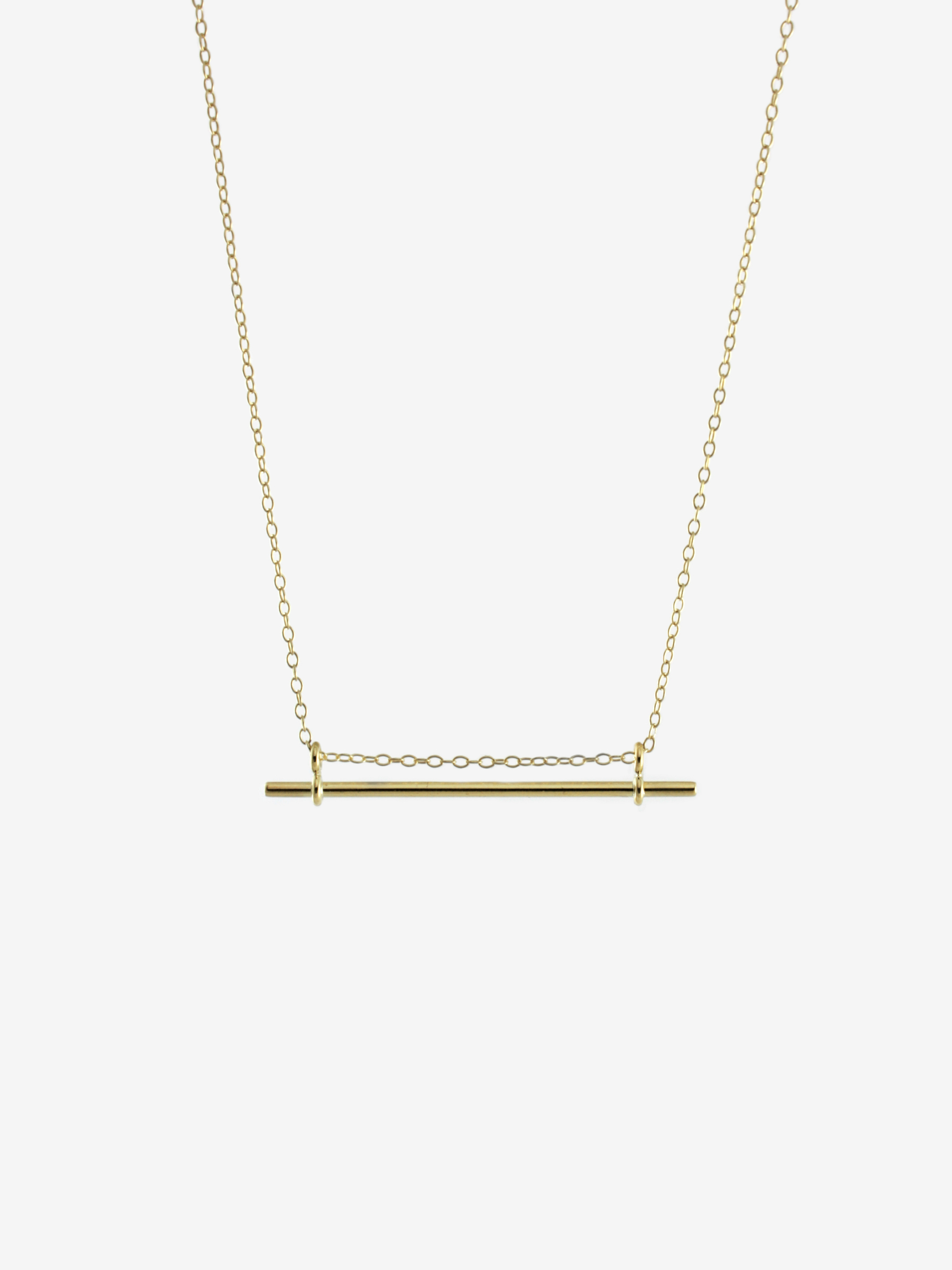 Minimal B necklace by Bepart - available at utopiast.com