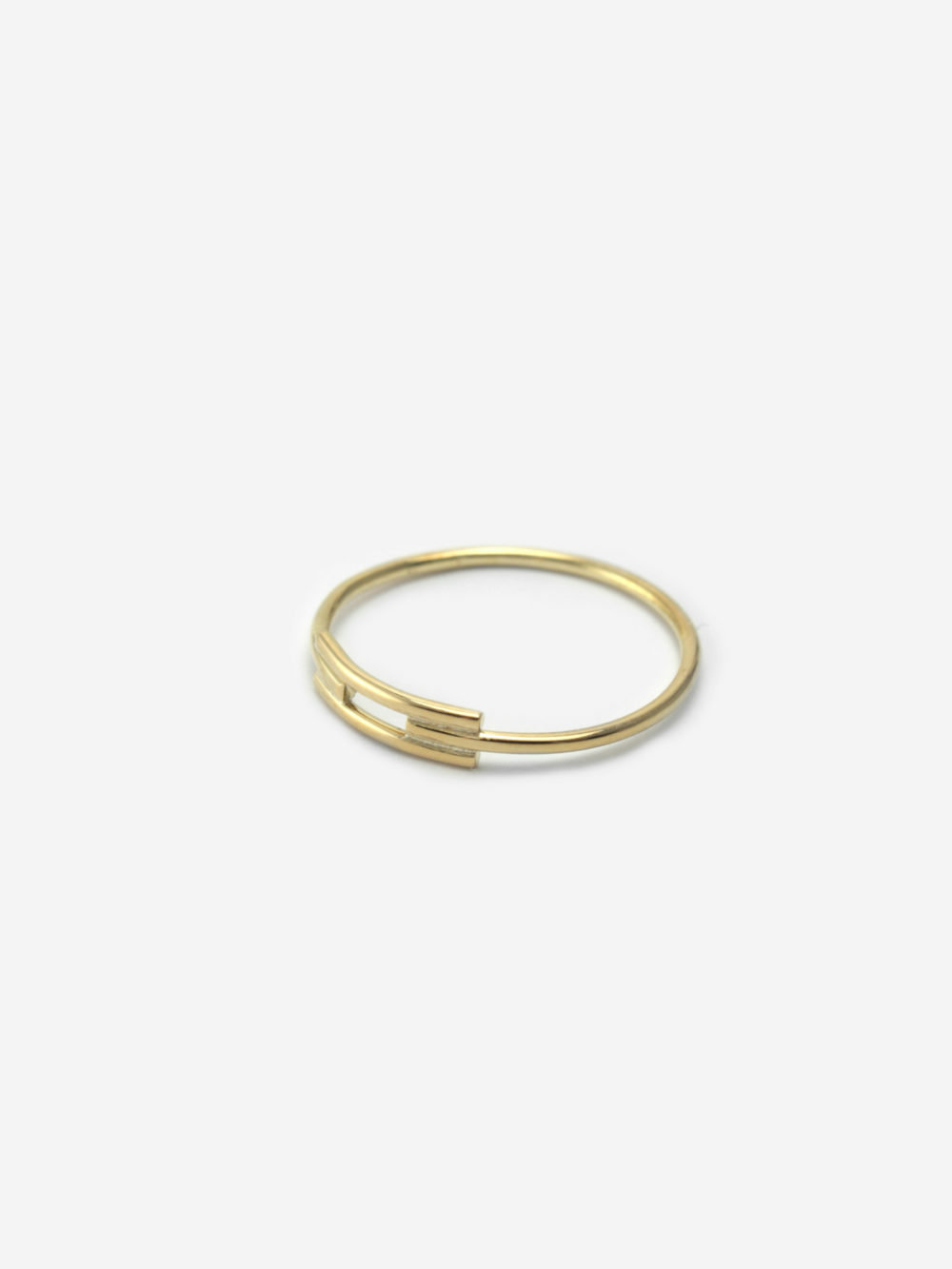 Minimal Line ring by Bepart - available at utopiast.com