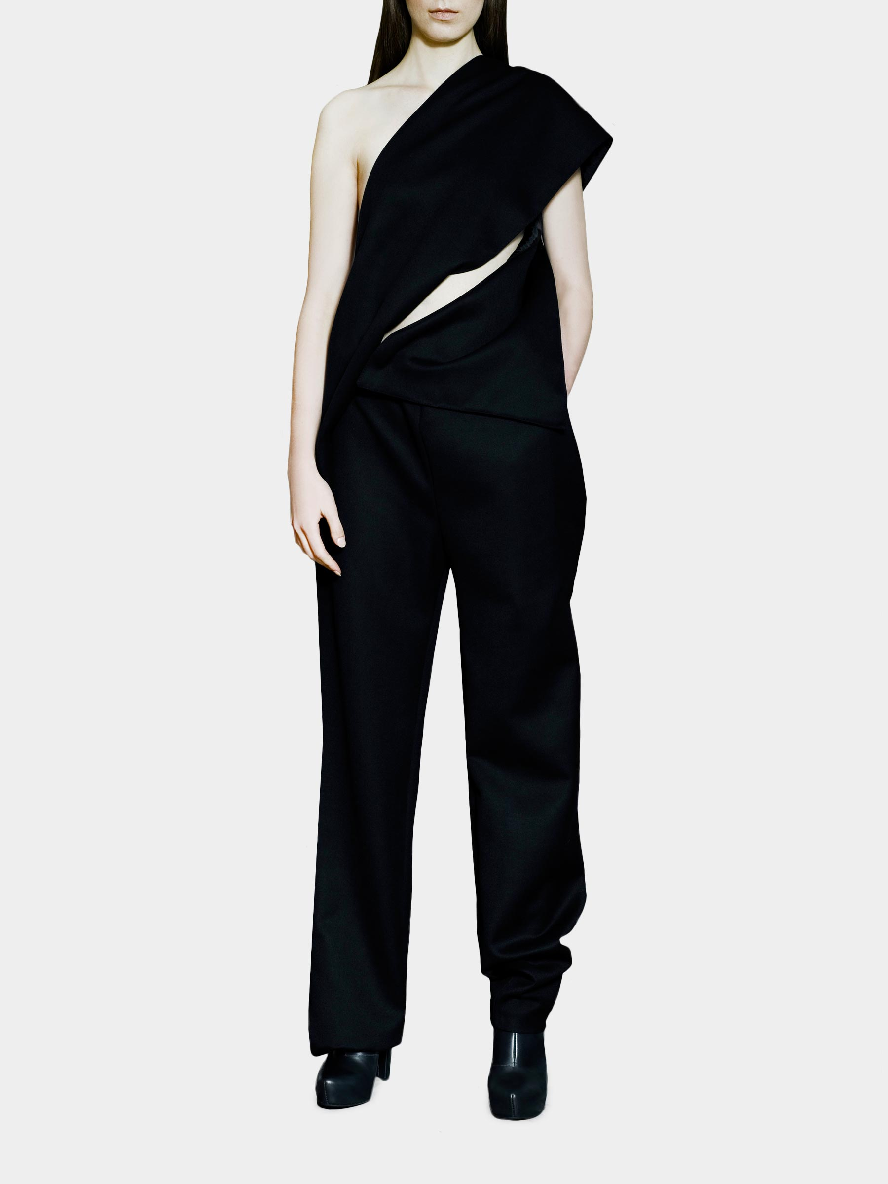 Joanna Organisciak Wool Jumpsuit - available at utopiast.com