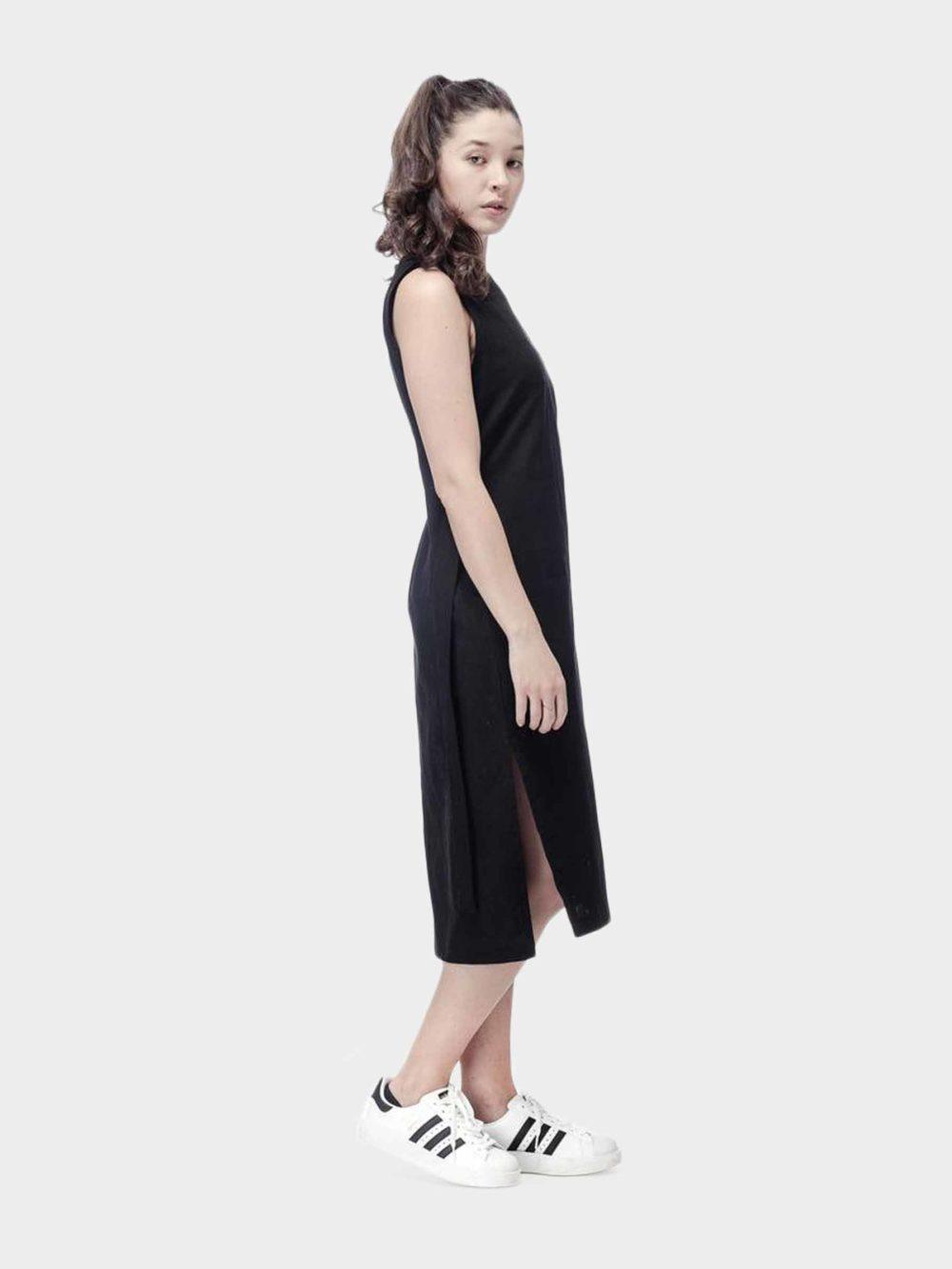 Luci Linen dress - black
