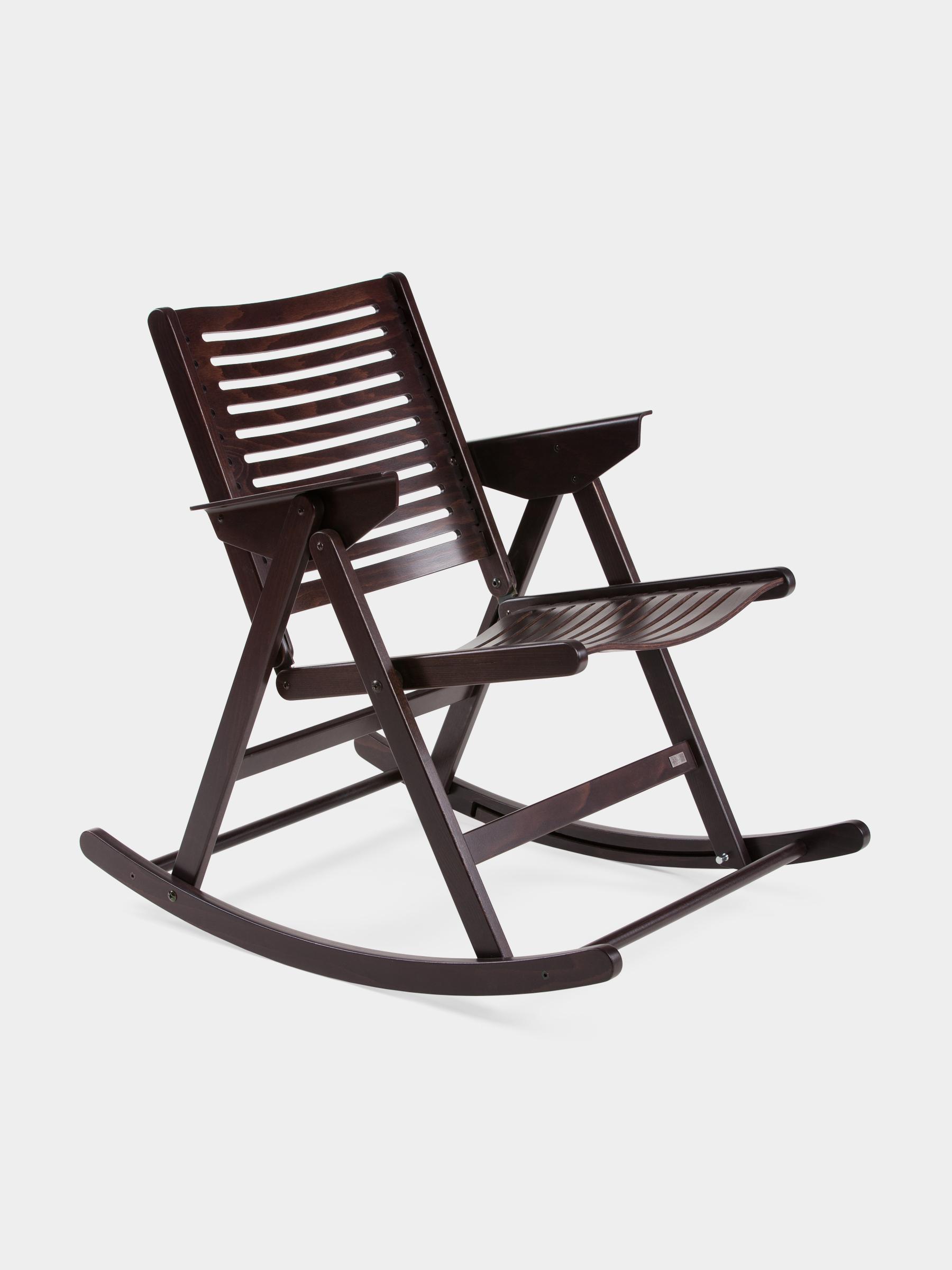Rex_Kralj_Rocking_Chair chocolate