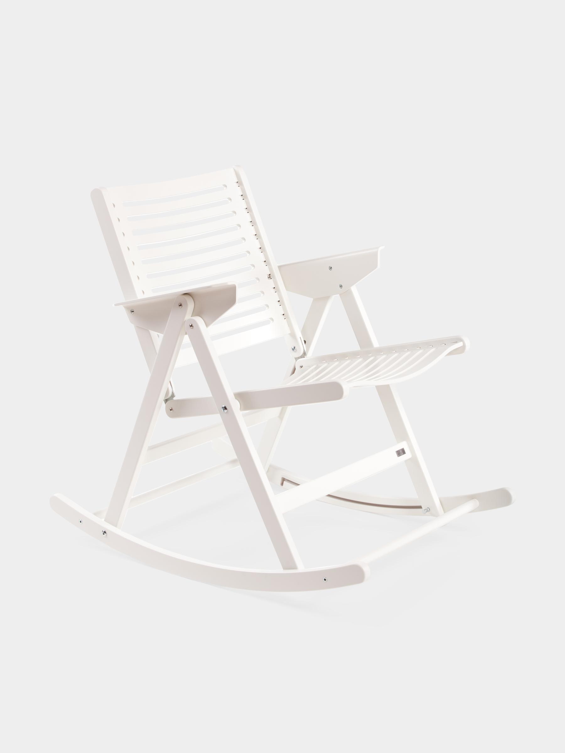 Rex_Kralj_Rocking_Chair white