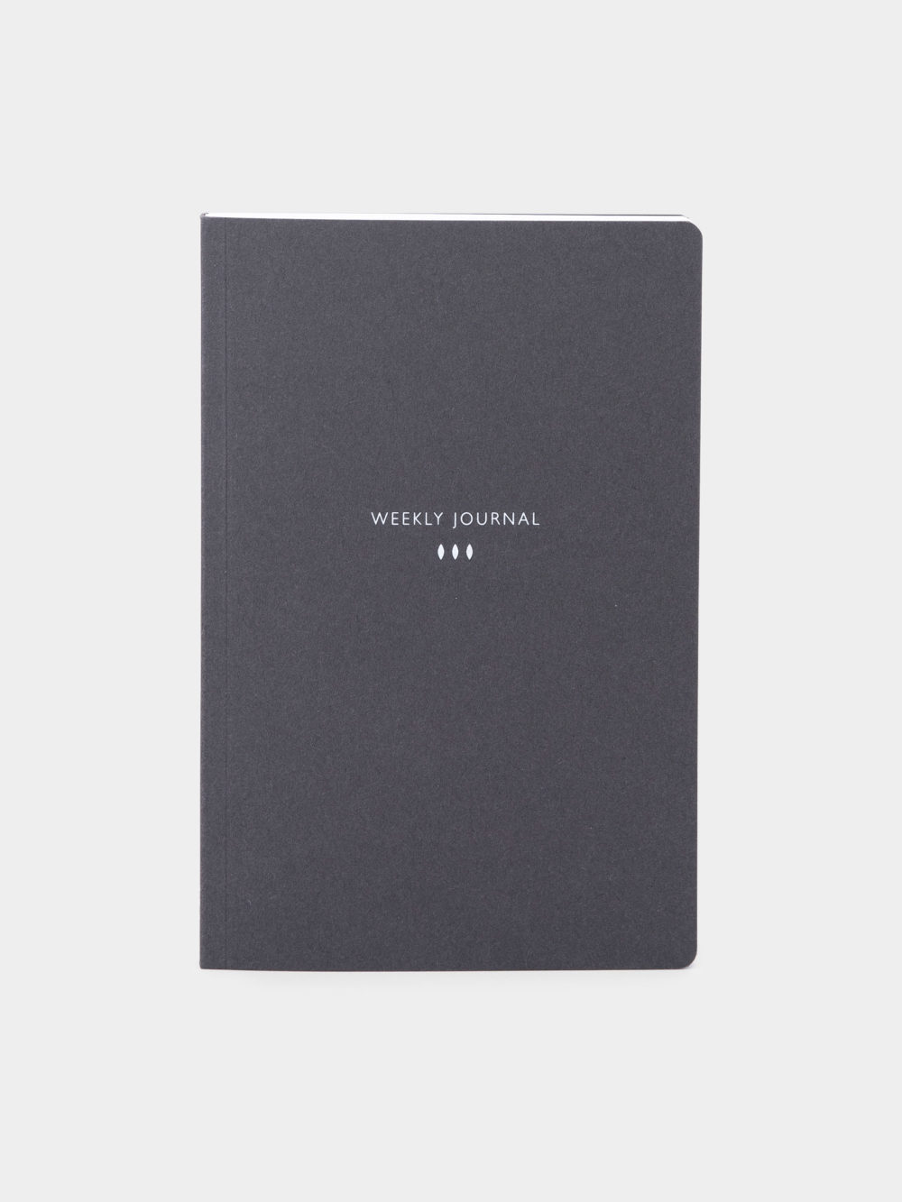 Mleko Living graphite notebook