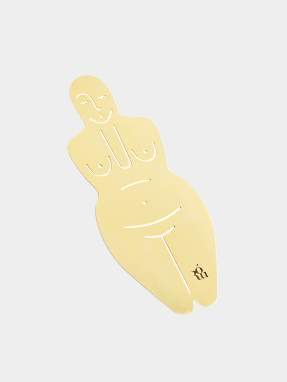 ROU Products_Venus shaped brass bookmark