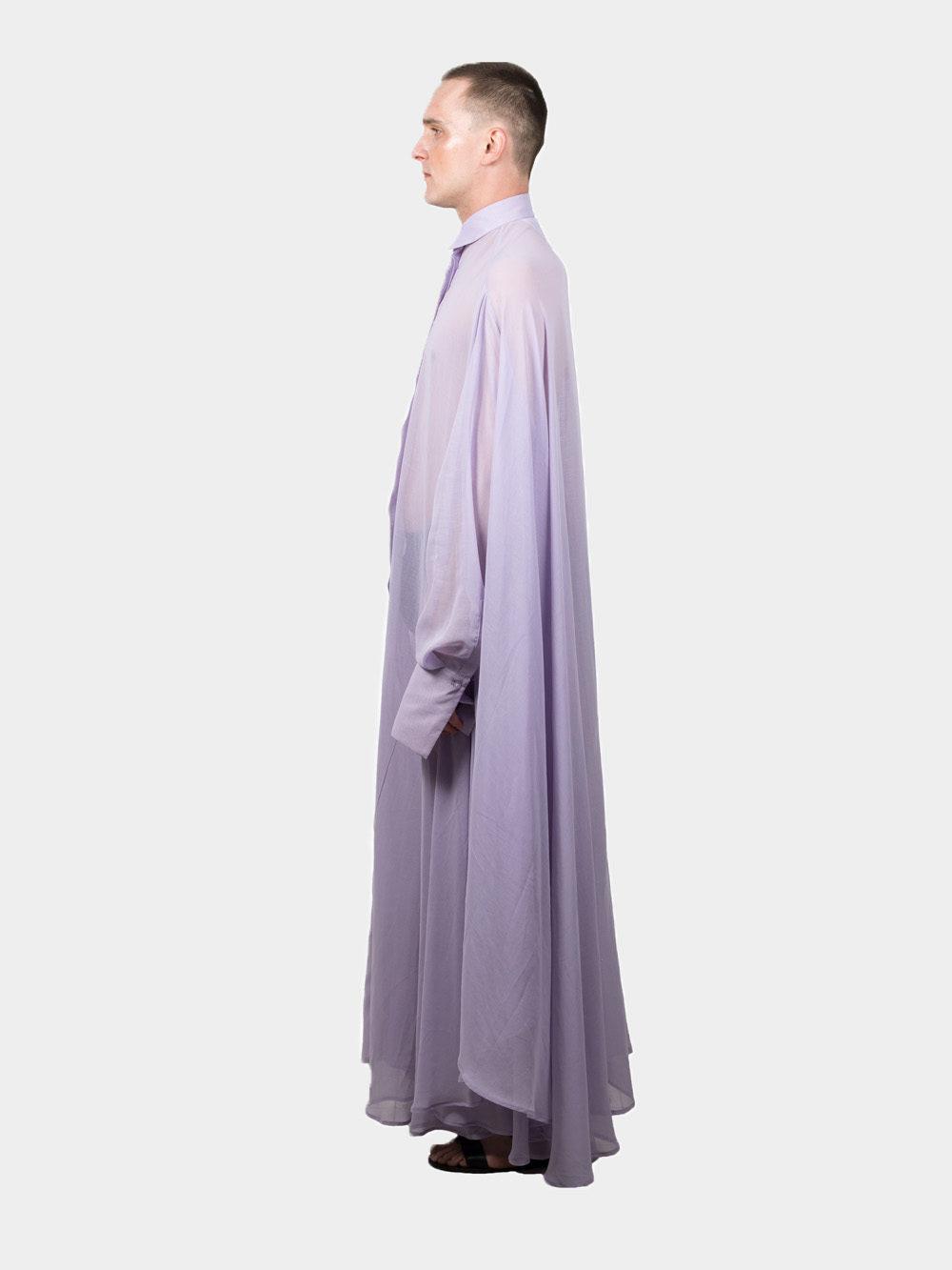 Ludus Transparent Medusae Shirt - lavender