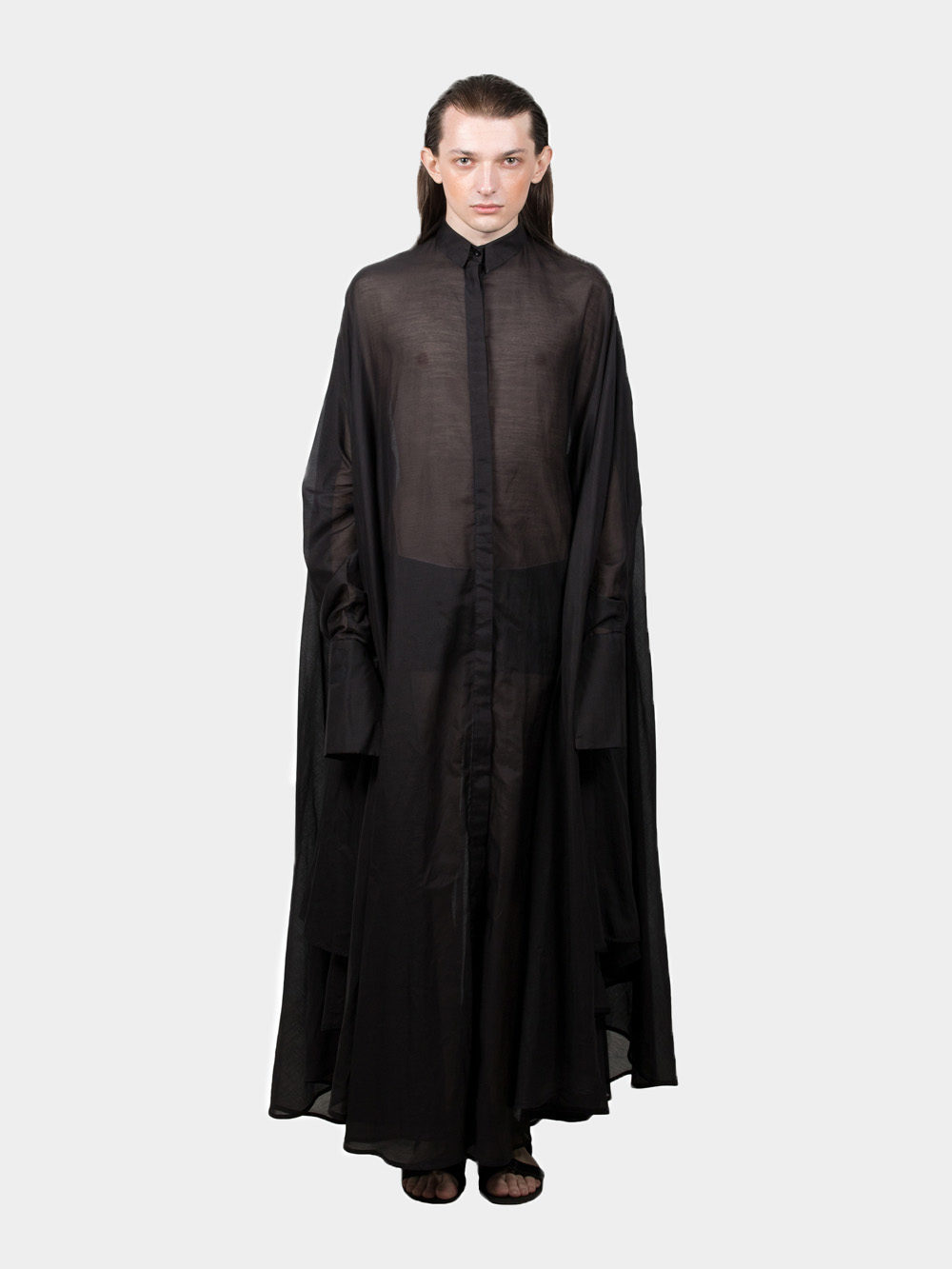 Ludus Transparent Medusae Shirt - black