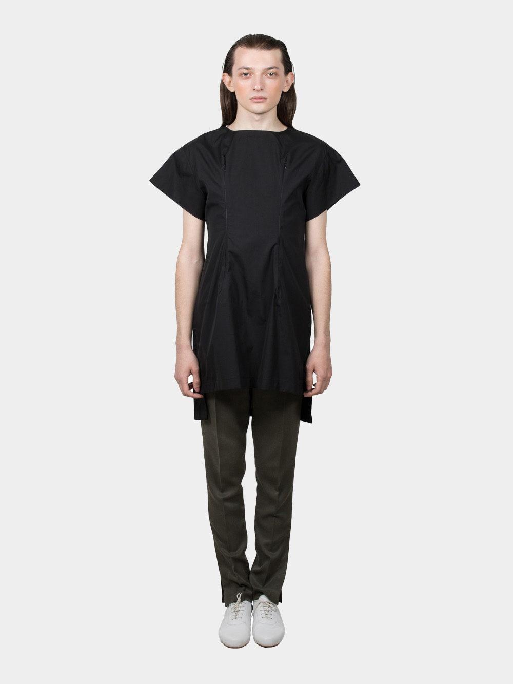 Ludus Slashed T-shirt - black